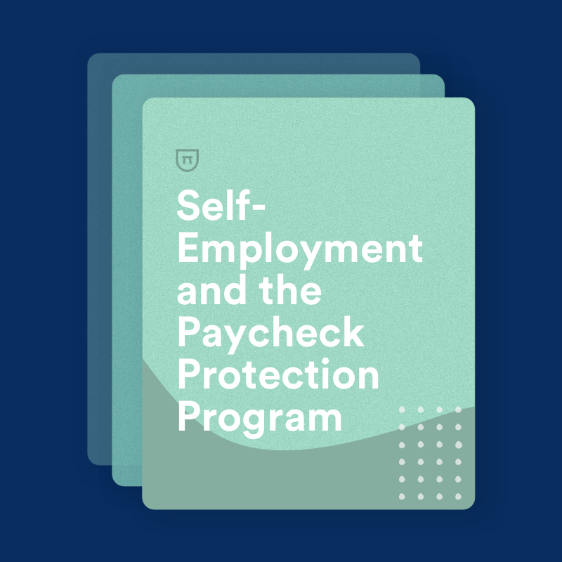 Self Employment 1099s And The Paycheck Protection Program