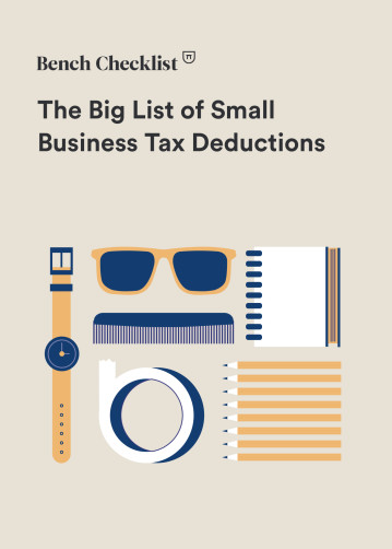 Tax Deduction List - Cover Image