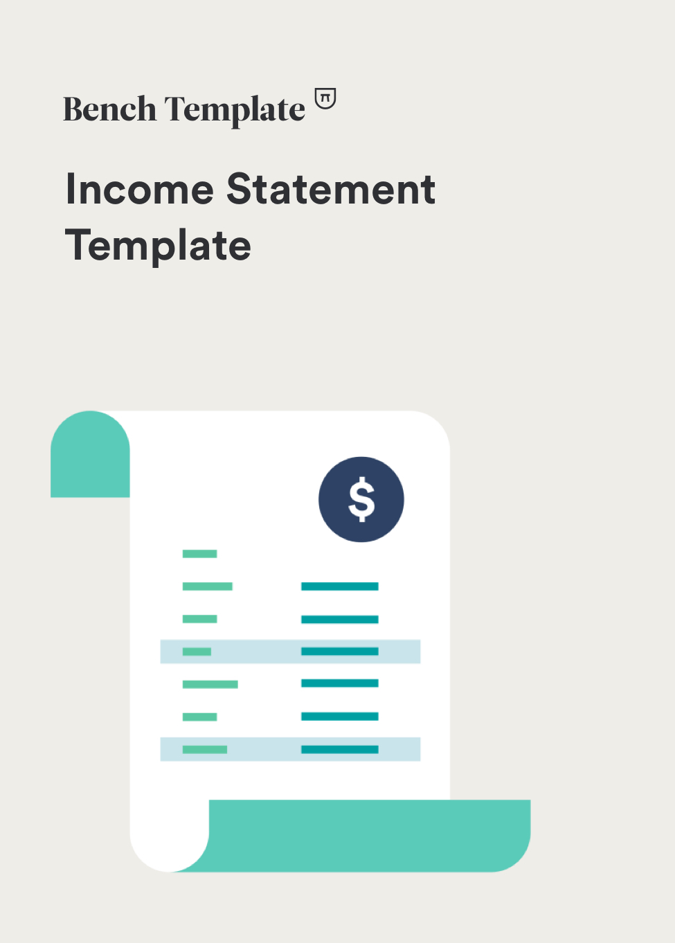 sample income statement excel