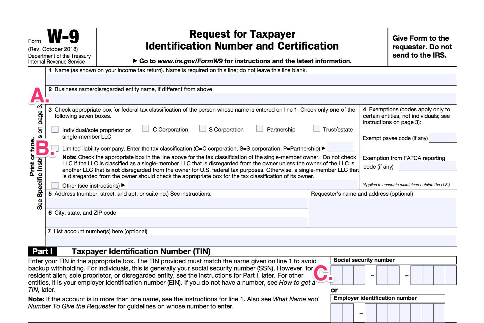 1099 form and w9  W9 vs 9: A Simple Guide to Contractor Tax Forms | Bench ...