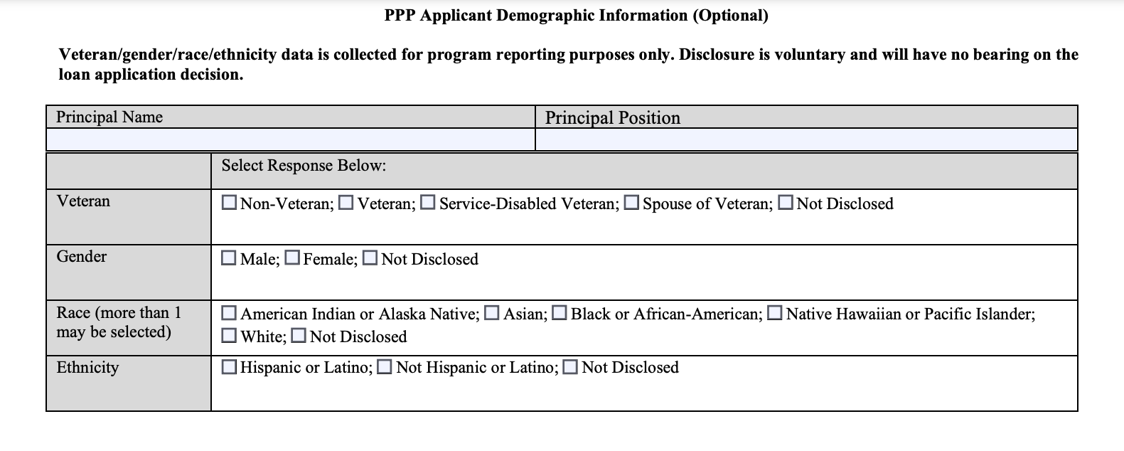 PPP Form 2483 Section 4