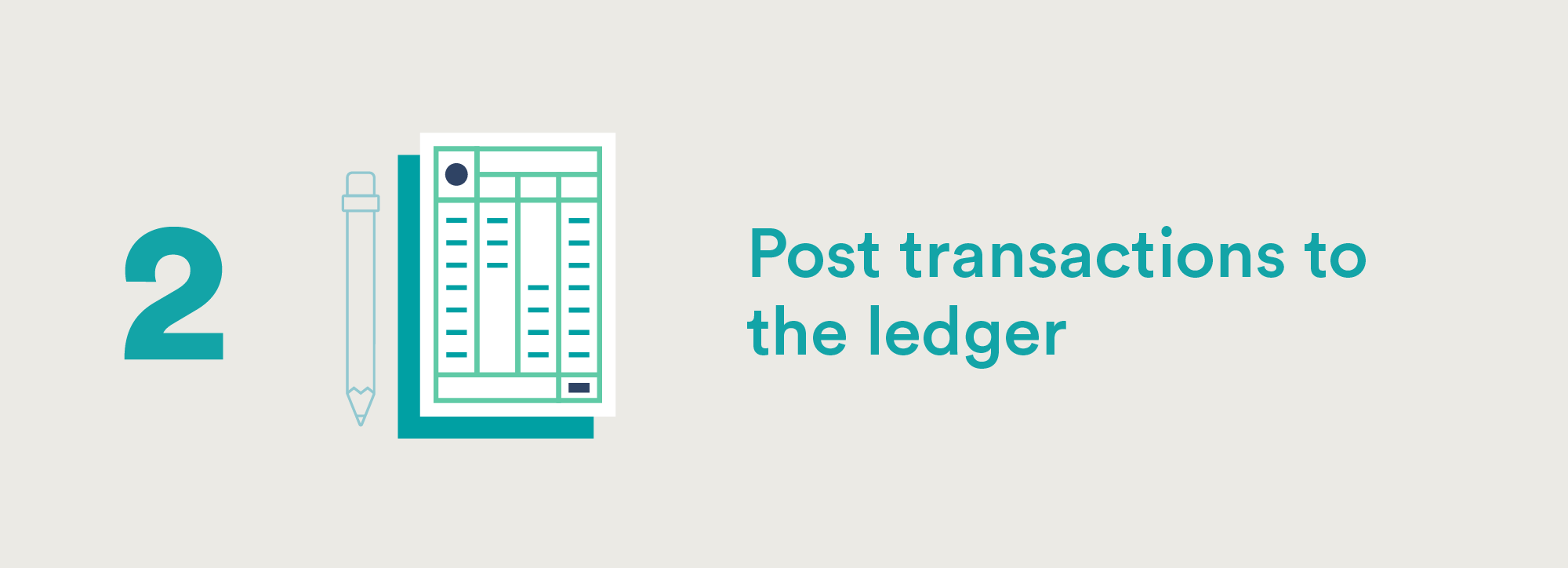Accounting Cycle Step Two: Post Transactions to the Ledger