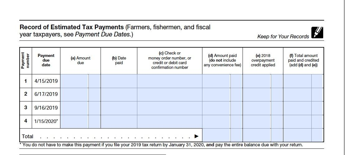Form 1040-ES: A Simple Guide to Estimated Tax Forms | Bench