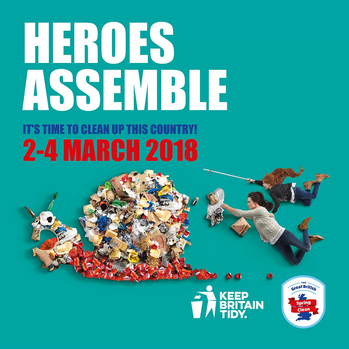 Council Backs the Great British Spring Clean