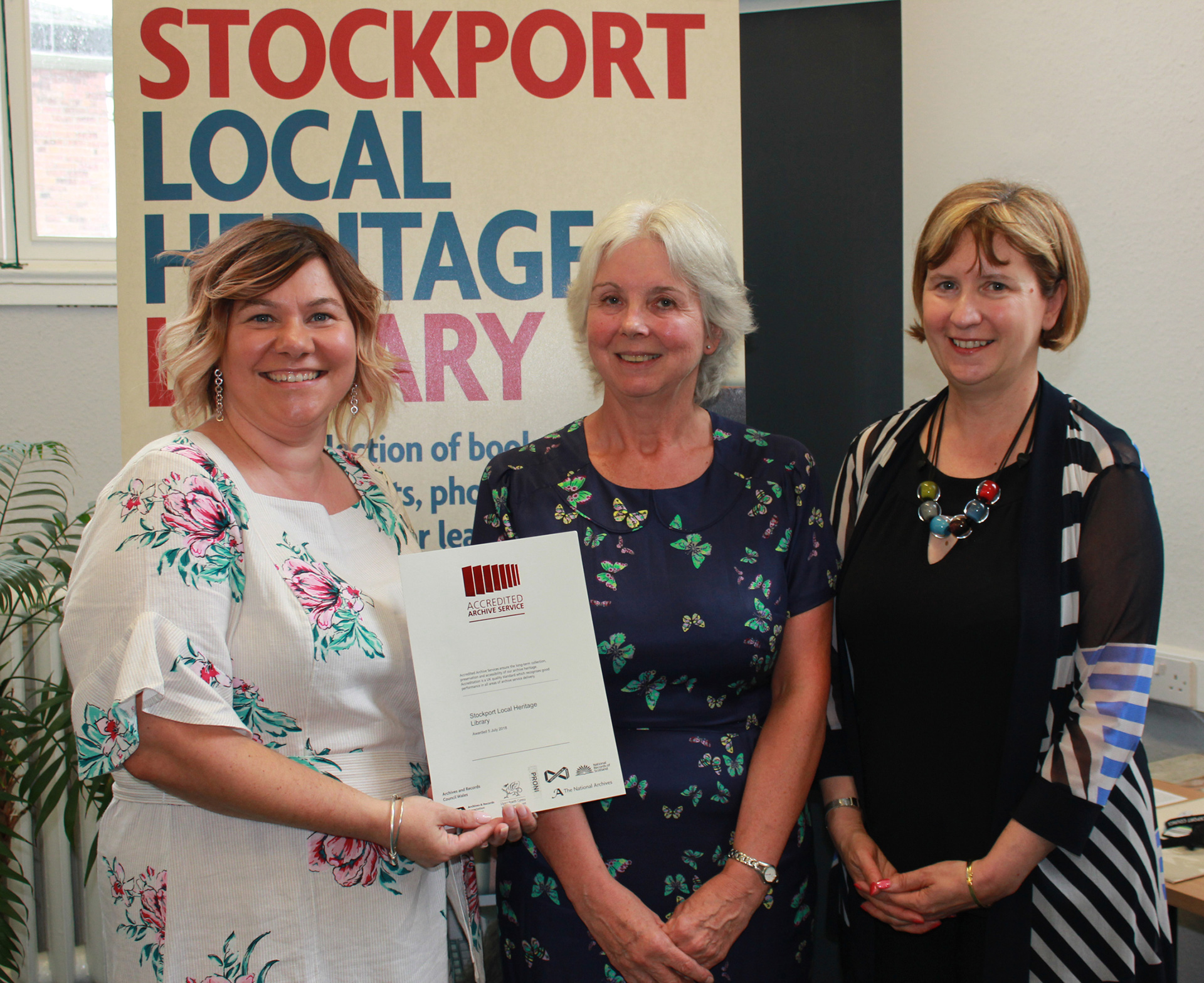 Stockport Local Heritage Library Achieves National Accreditation