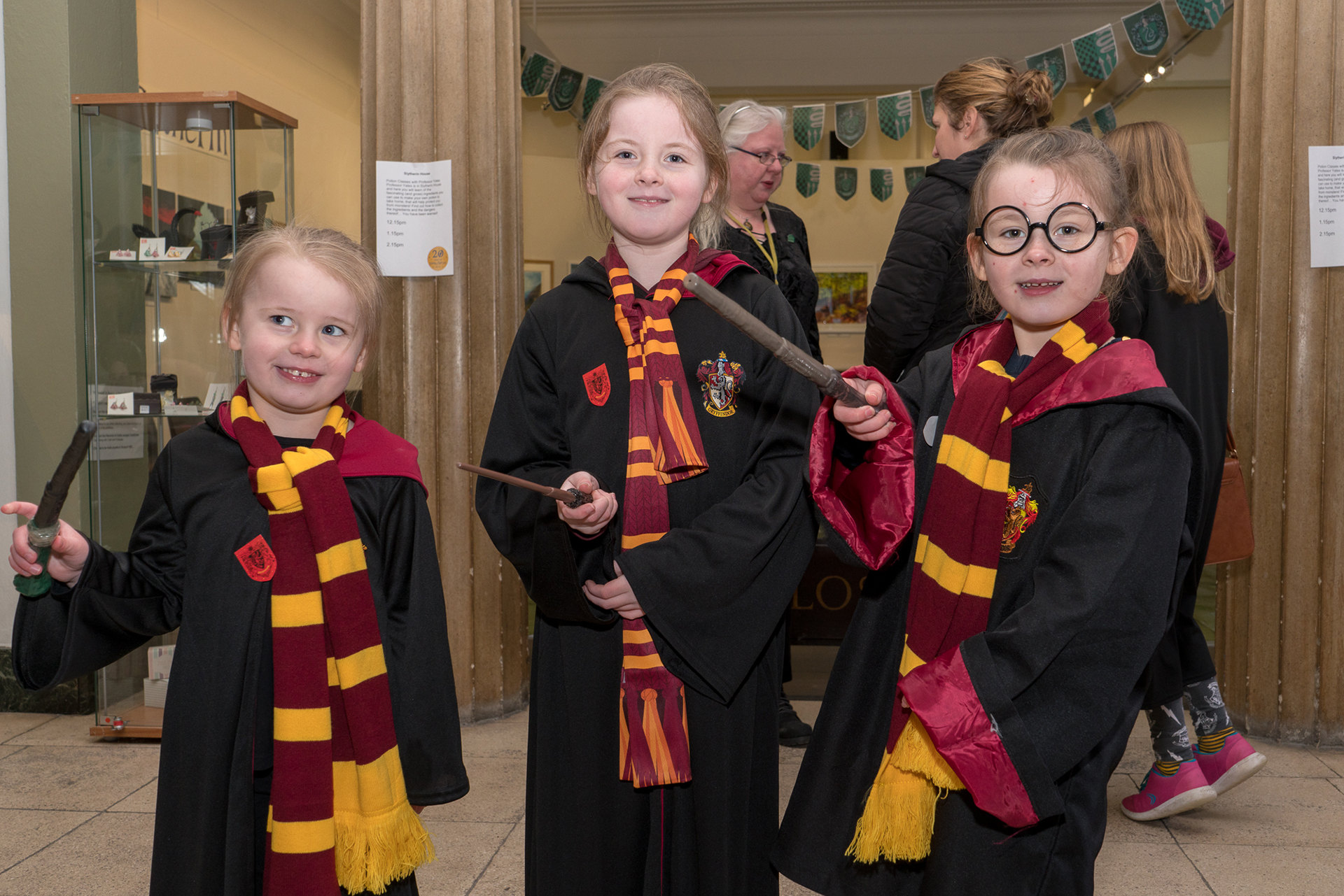 Potterheads flock to Stockport War Memorial Art Gallery