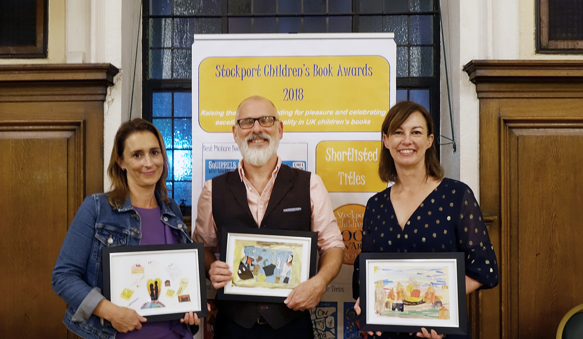 Winners of Stockport Children's Book Awards 2018
