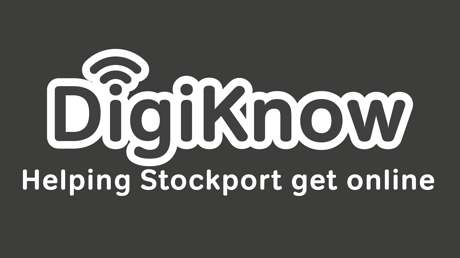 Could you learn to help others get online in Stockport?