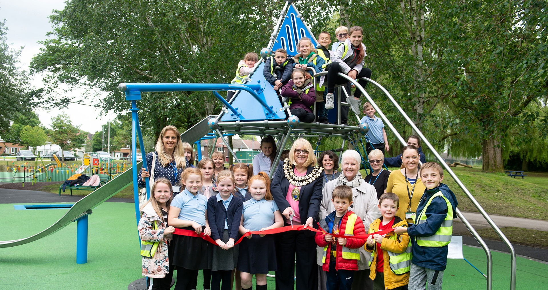 Local children have say in new play area in Brinnington Park