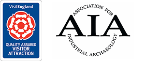 Visit England and Association for Industrial Archaeology logo