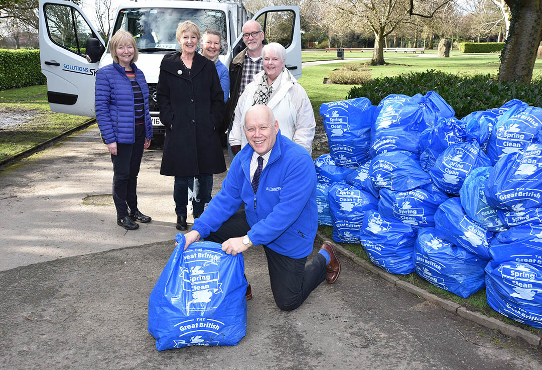 Local communities get together for Stockport's big tidy up
