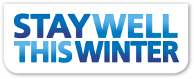 Health - stay well this winter logo