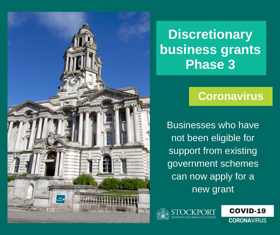 Phase 3 of council's Discretionary Grant Scheme opens