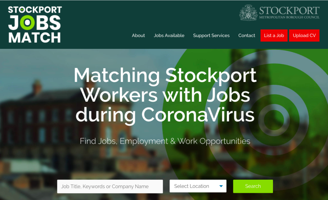 Job matching service launches in Stockport to help residents