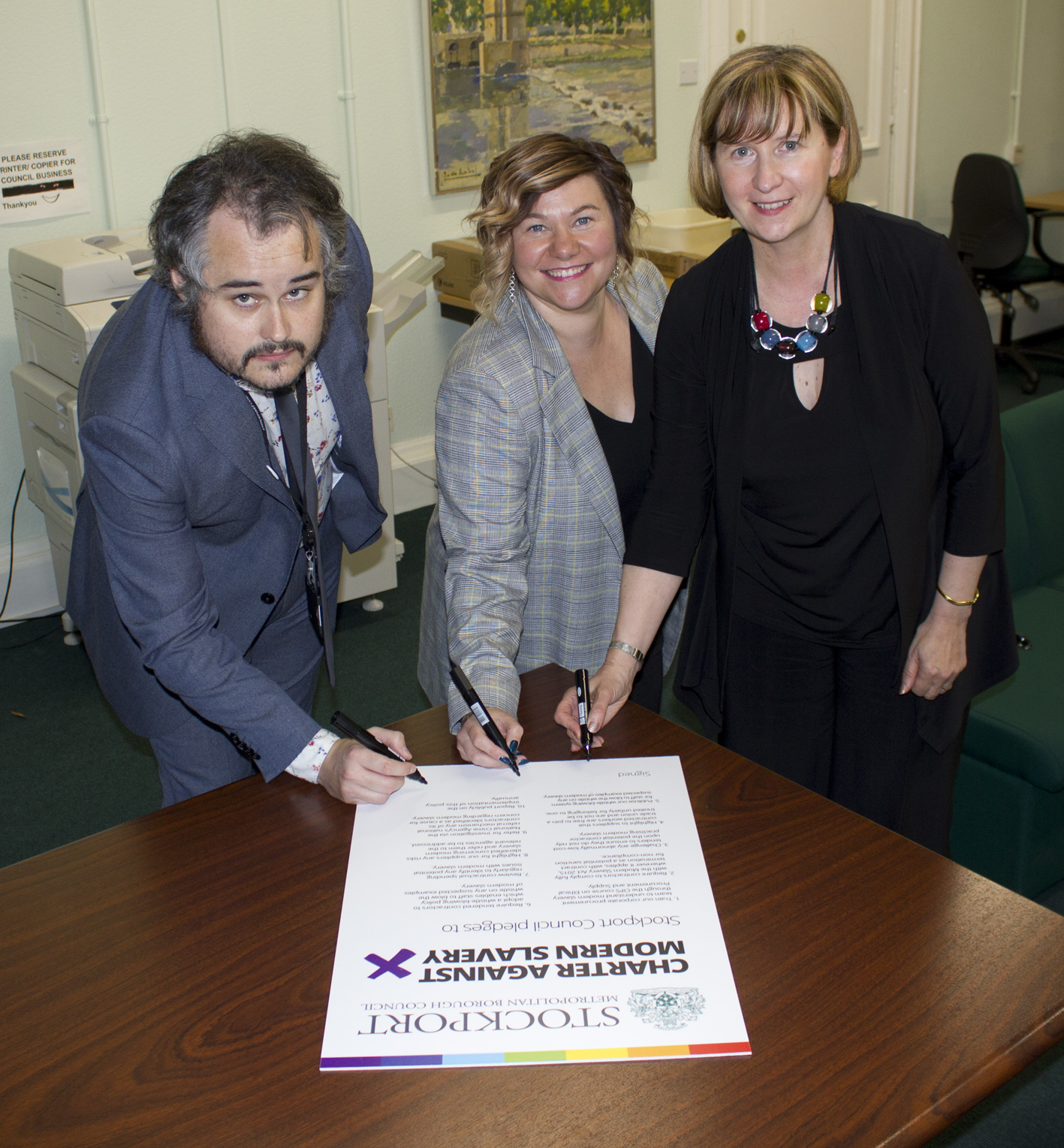 Stockport Council launches modern slavery charter