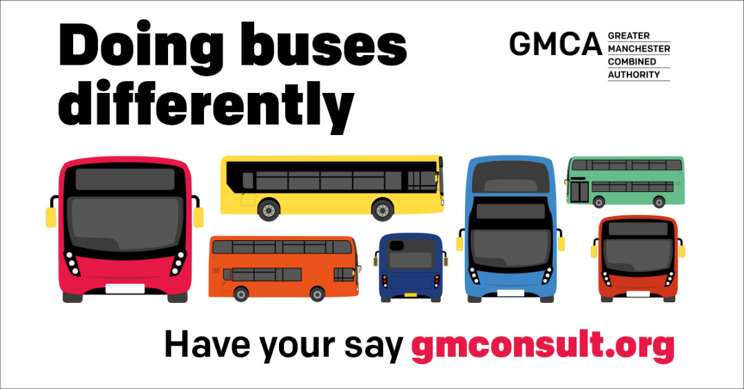 Have your say on the impact of Covid-19 on GMCA's proposals for the future of your buses