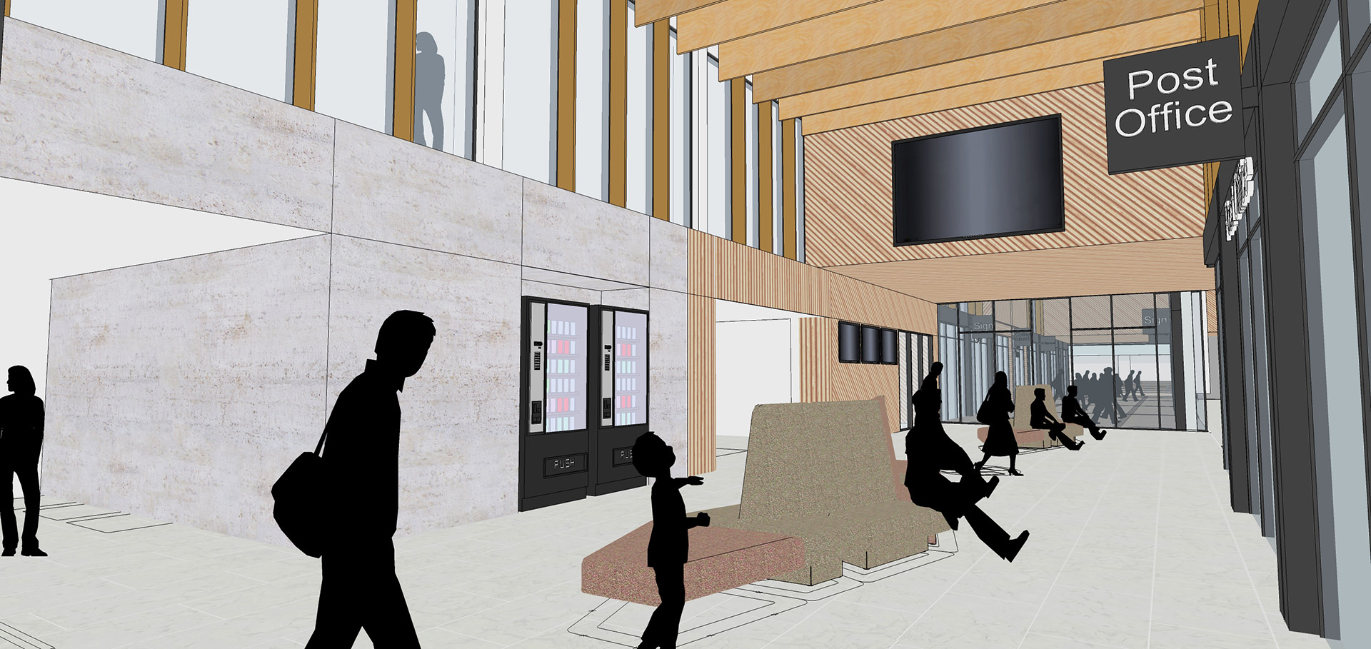 News - interior lobby merseyway redevelopment