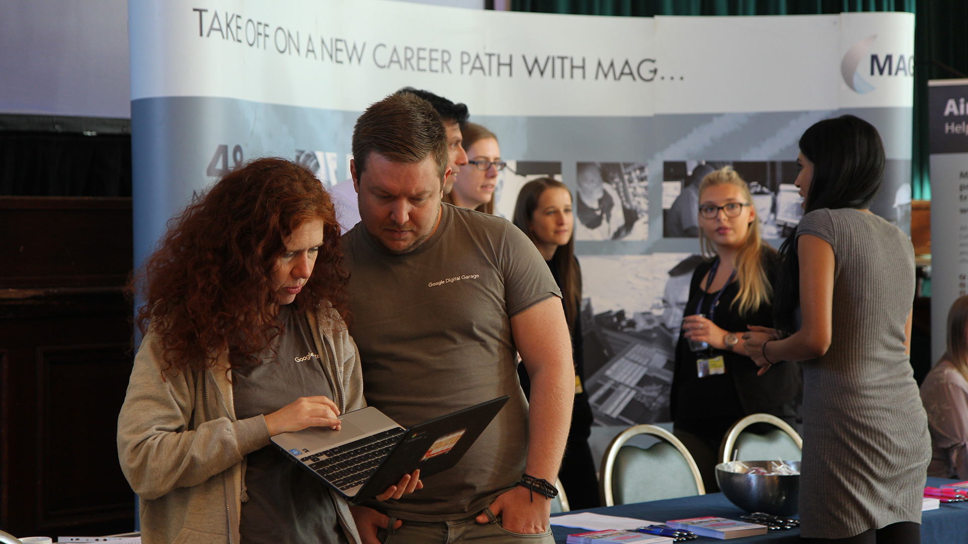 Successful jobs fair in Stockport