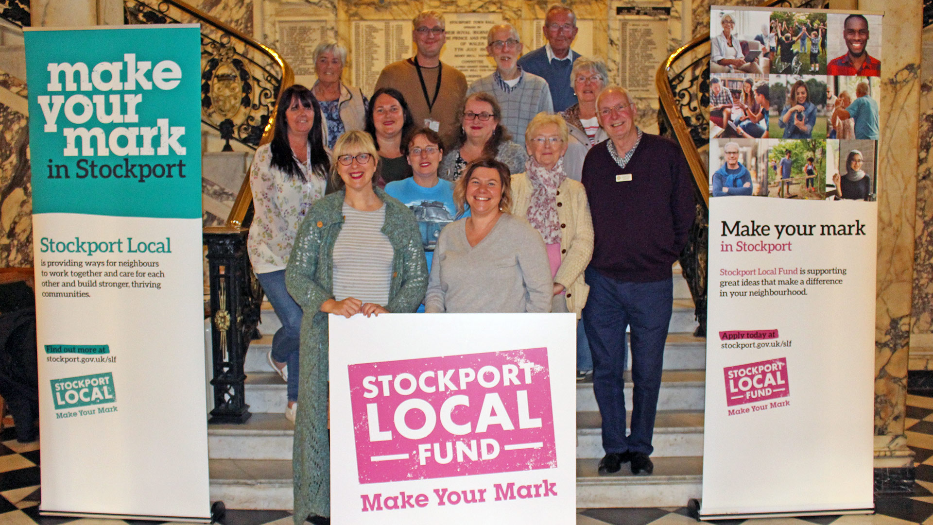 Stockport Local Fund announces the first great ideas that will make a difference in our neighbourhoods
