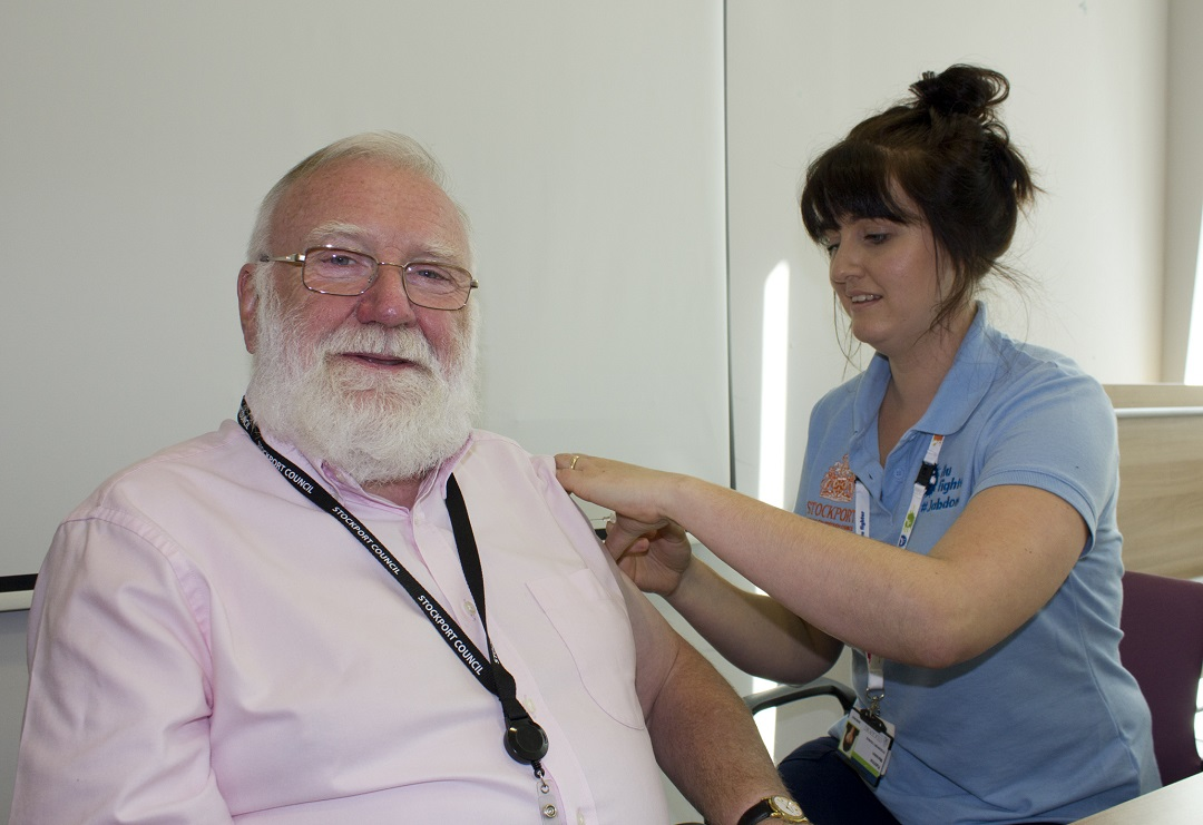 Residents aged 65 and over urged to get flu jab