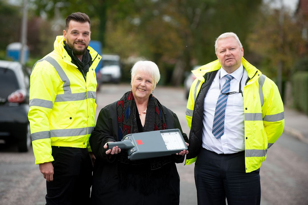 Bright future for Stockport street lights