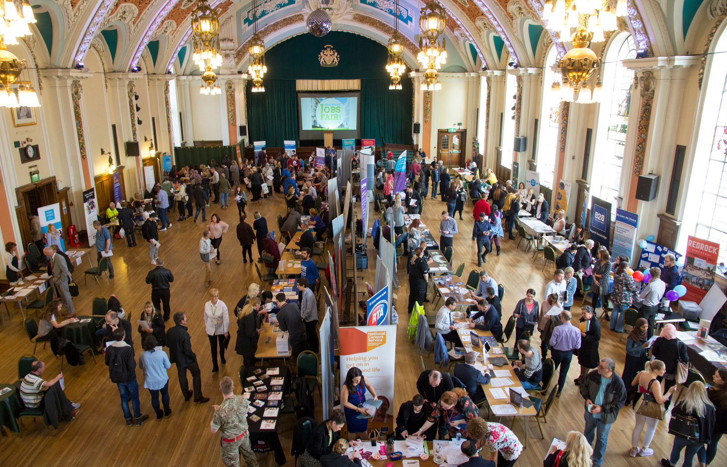 Jobs Fair draws record crowds