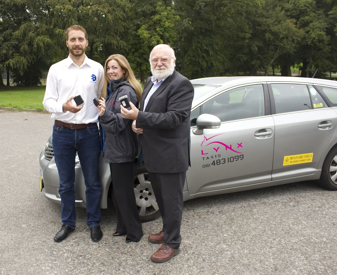 Lynx taxis join clean air initiative