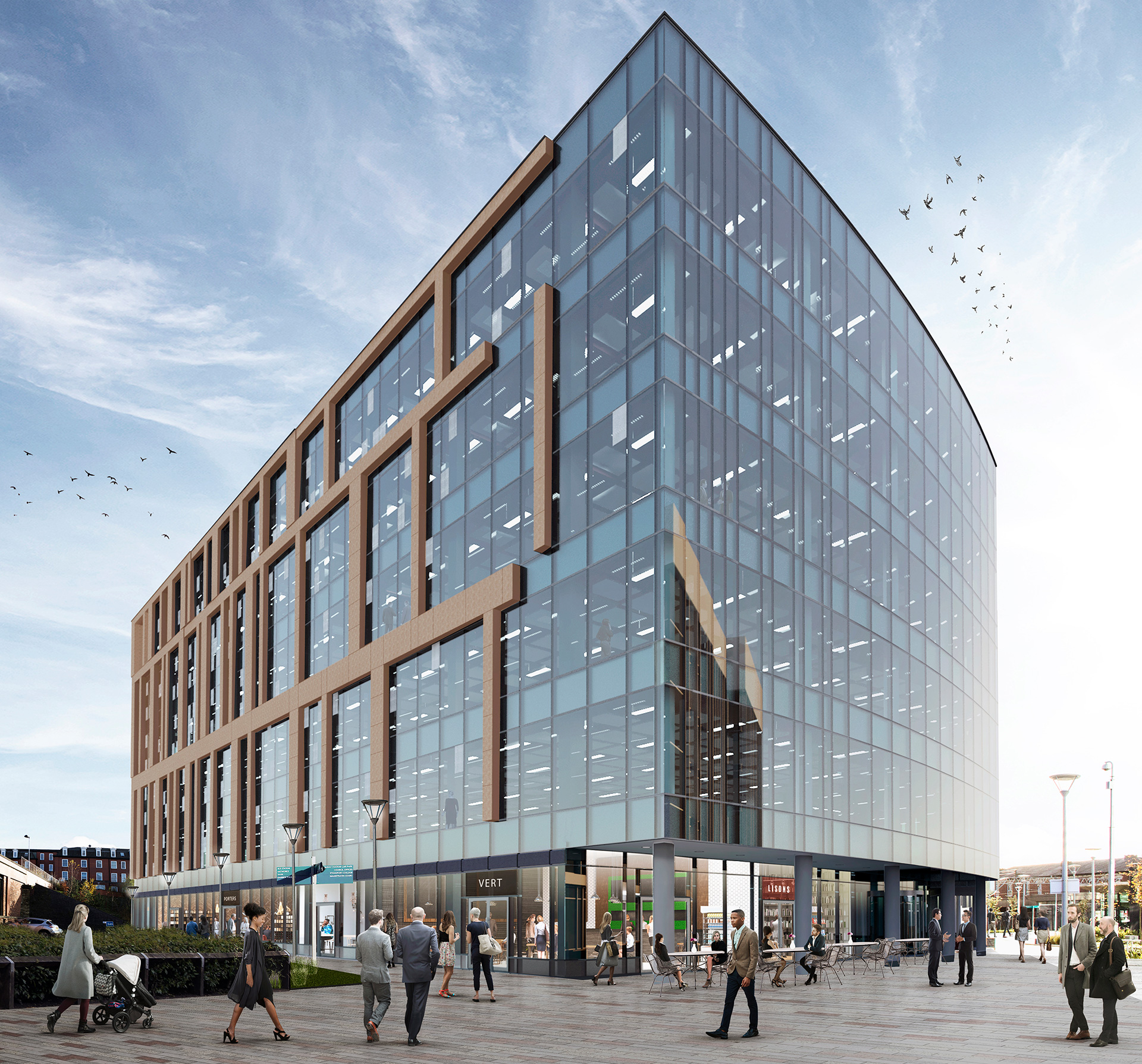 Contractor Appointed for 2 Stockport Exchange