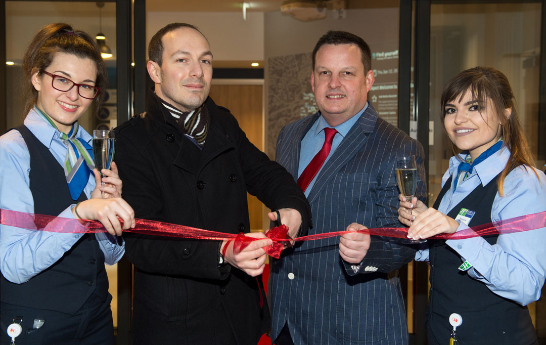 grand opening of inn express stockport celebrated