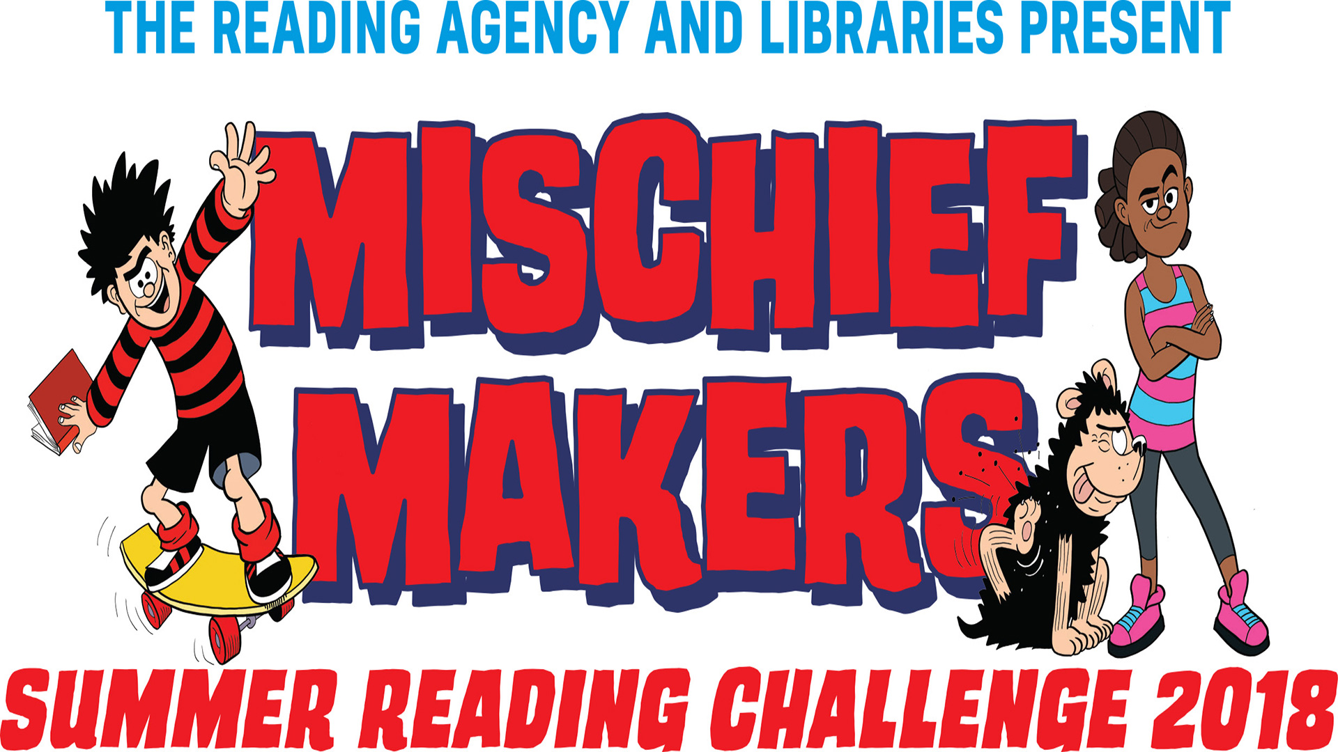 Summer Reading Challenge - mischief makers