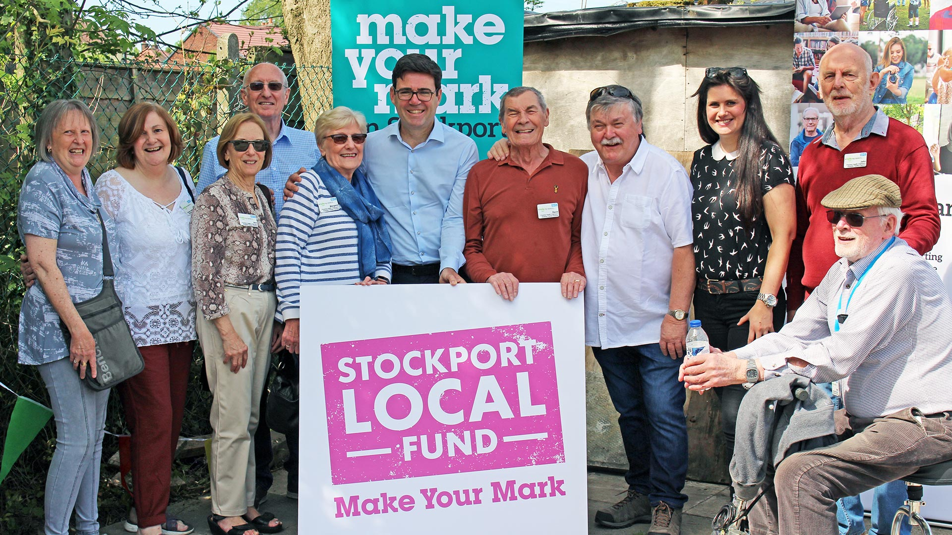 Stockport Local Fund supports 'Wellbeing' Allotment in Woodley
