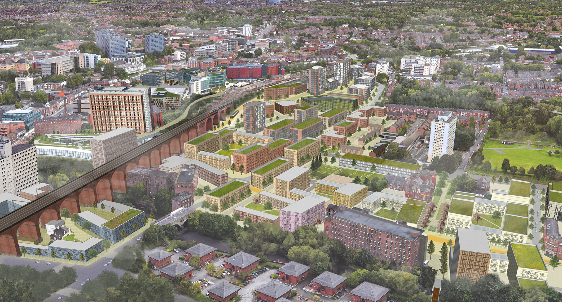 Transformational vision unveiled for Stockport Town Centre West