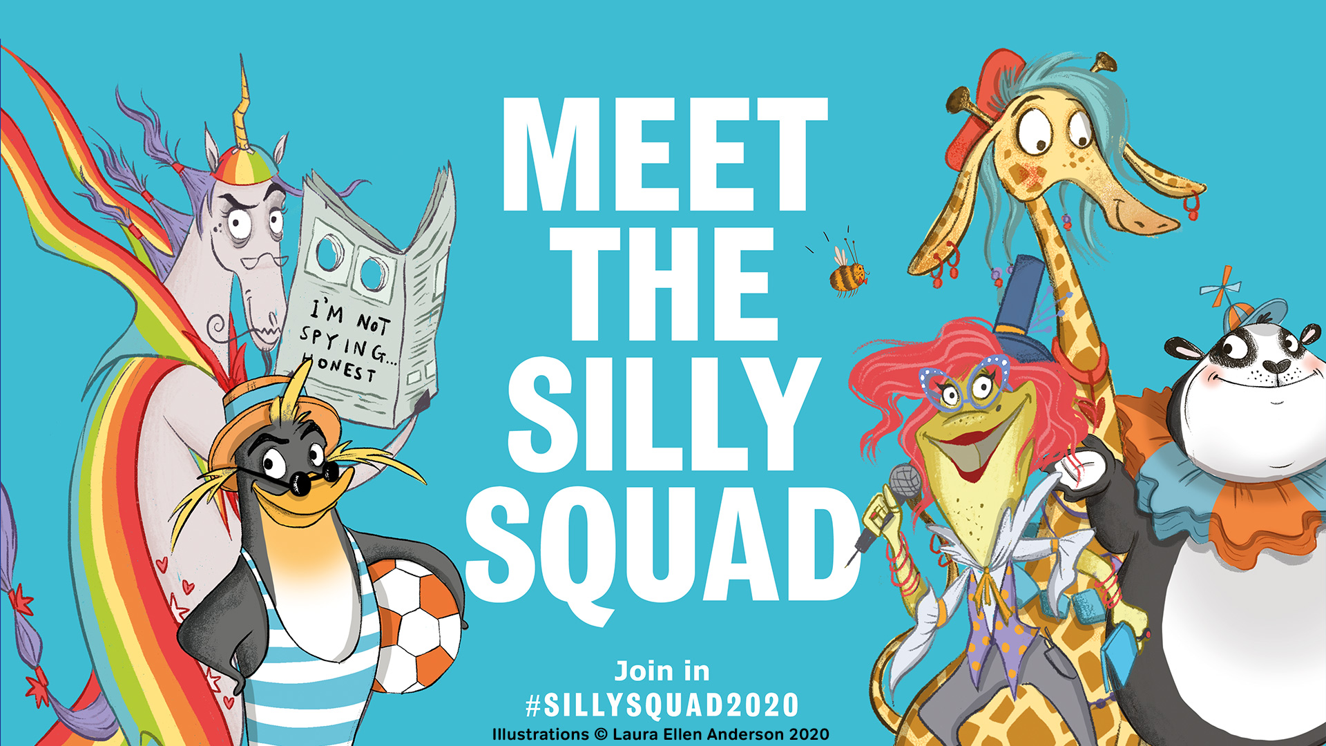 Silly Squad Summer Reading Challenge for children