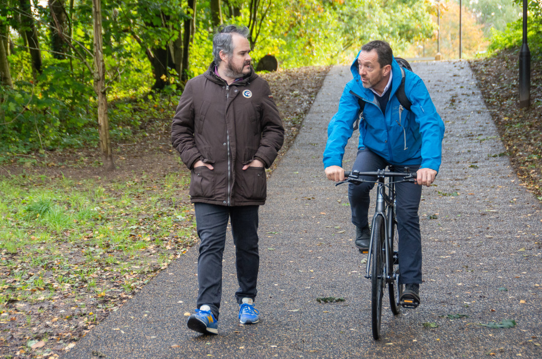 Chris Boardman urges Heatons and Romiley residents to have their say on Active Neighbourhood exercise