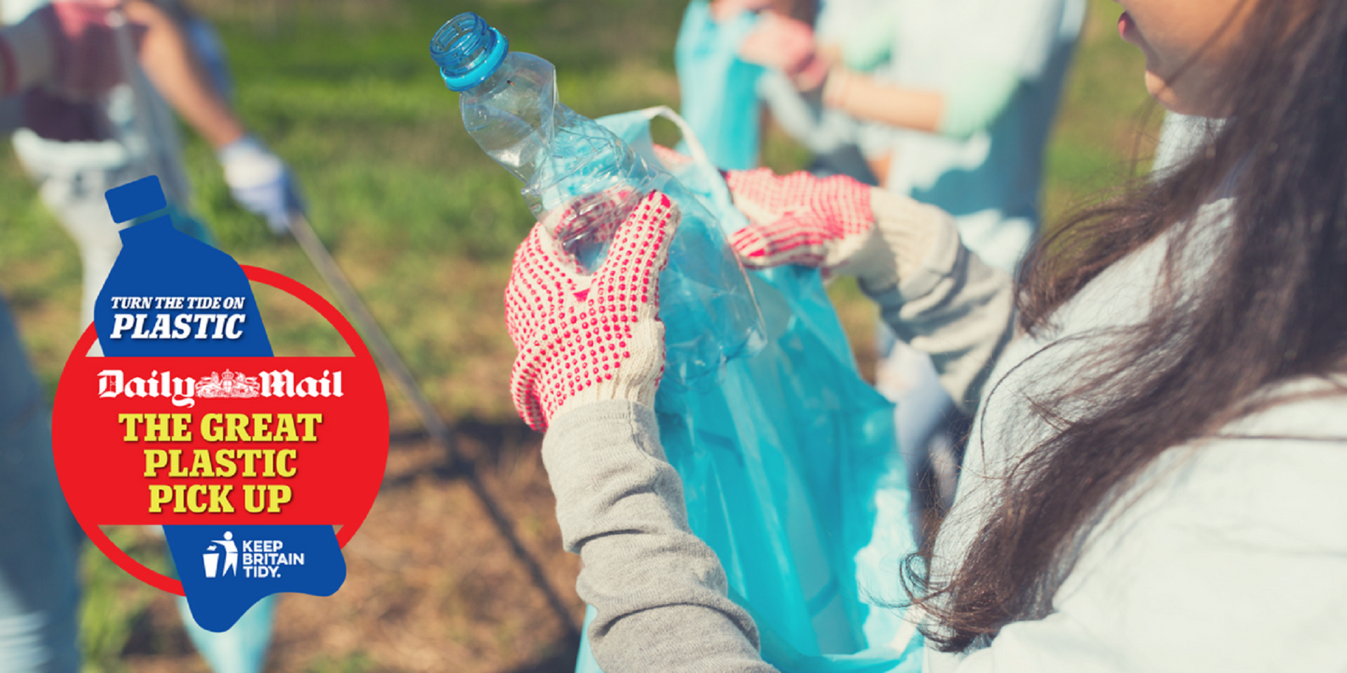 There's still time to sign up to the Great Plastic Pick Up