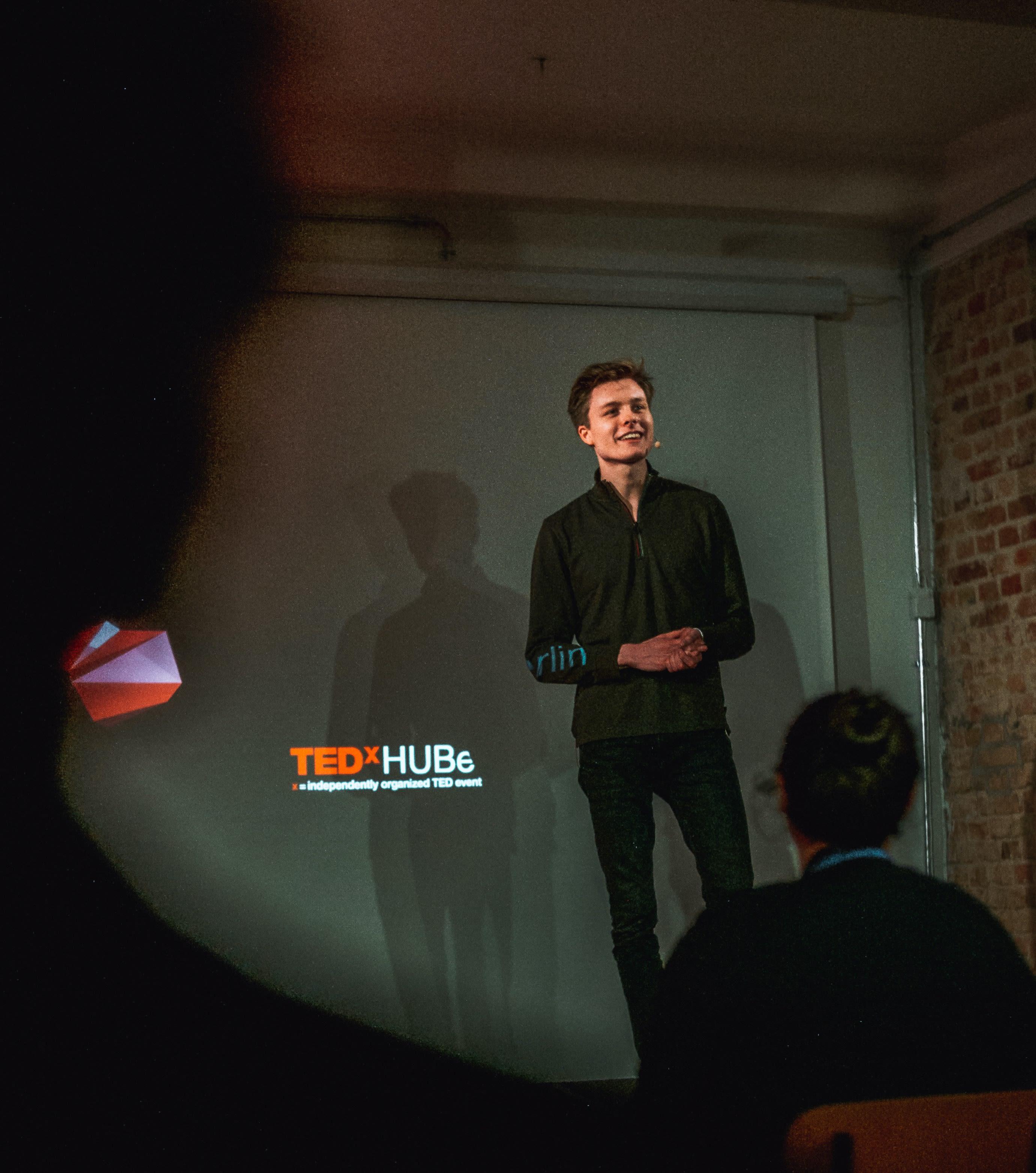TEDx Speaker, Berlin - Sebastian Haede