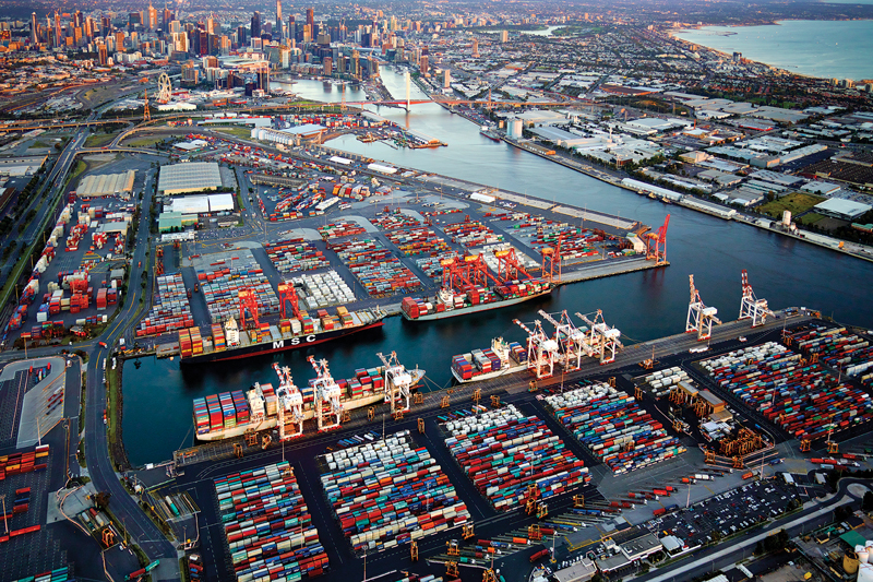 Port of Melbourne image
