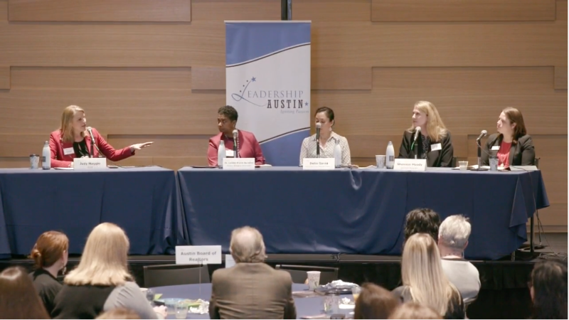 Leadership Austin: Women's Issues are Community Issues