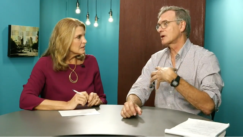 Capital Coffee Talk: John Burnett and the Border Crisis