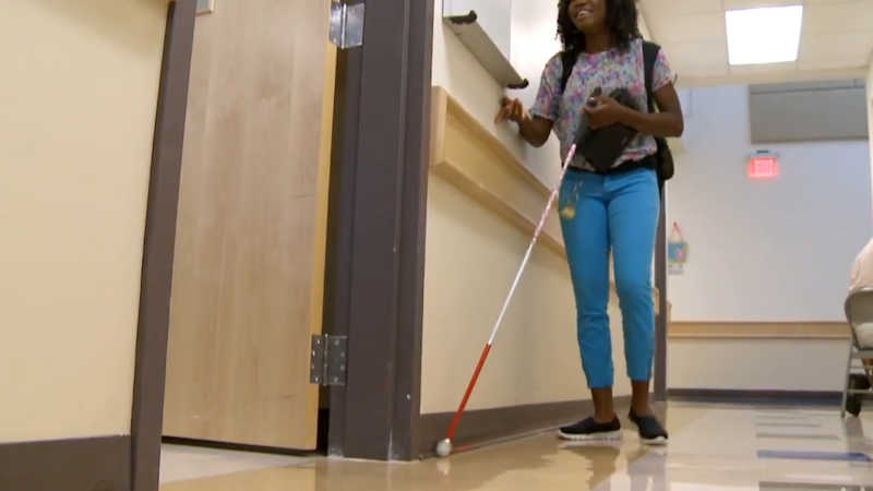 photo: Covid-19: Texas School For The Blind and Visually Impaired