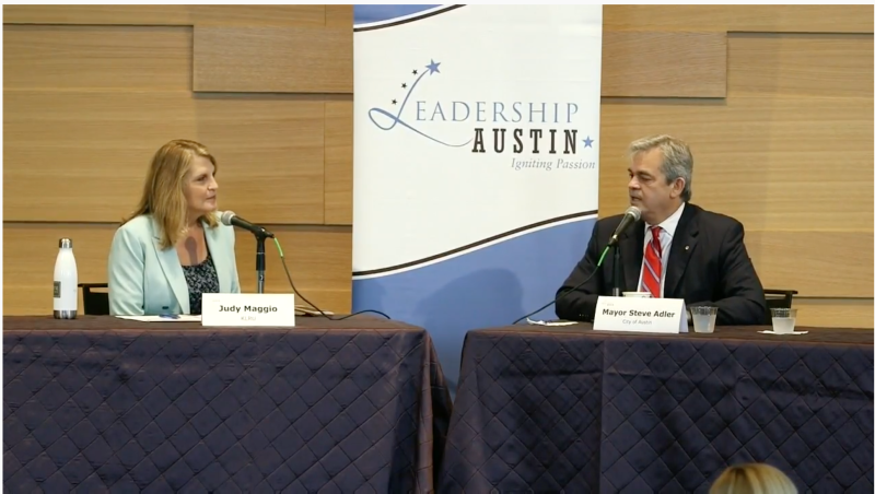 Leadership Austin:  Mayor Steve Adler