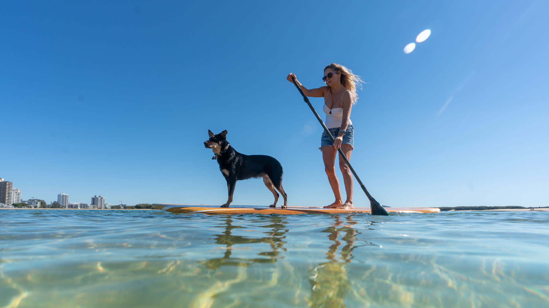 Stand Up Paddleboarding at Cotton Tree