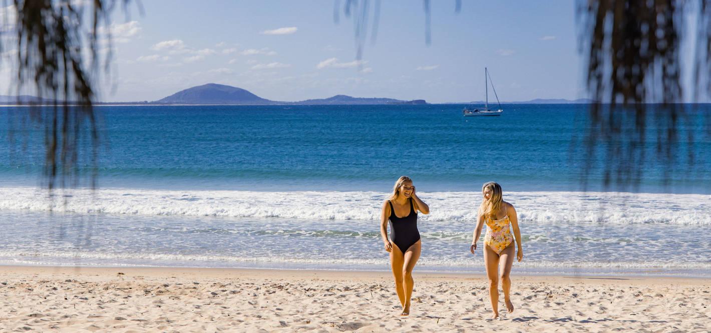 The ultimate girls' weekend on the Sunshine Coast