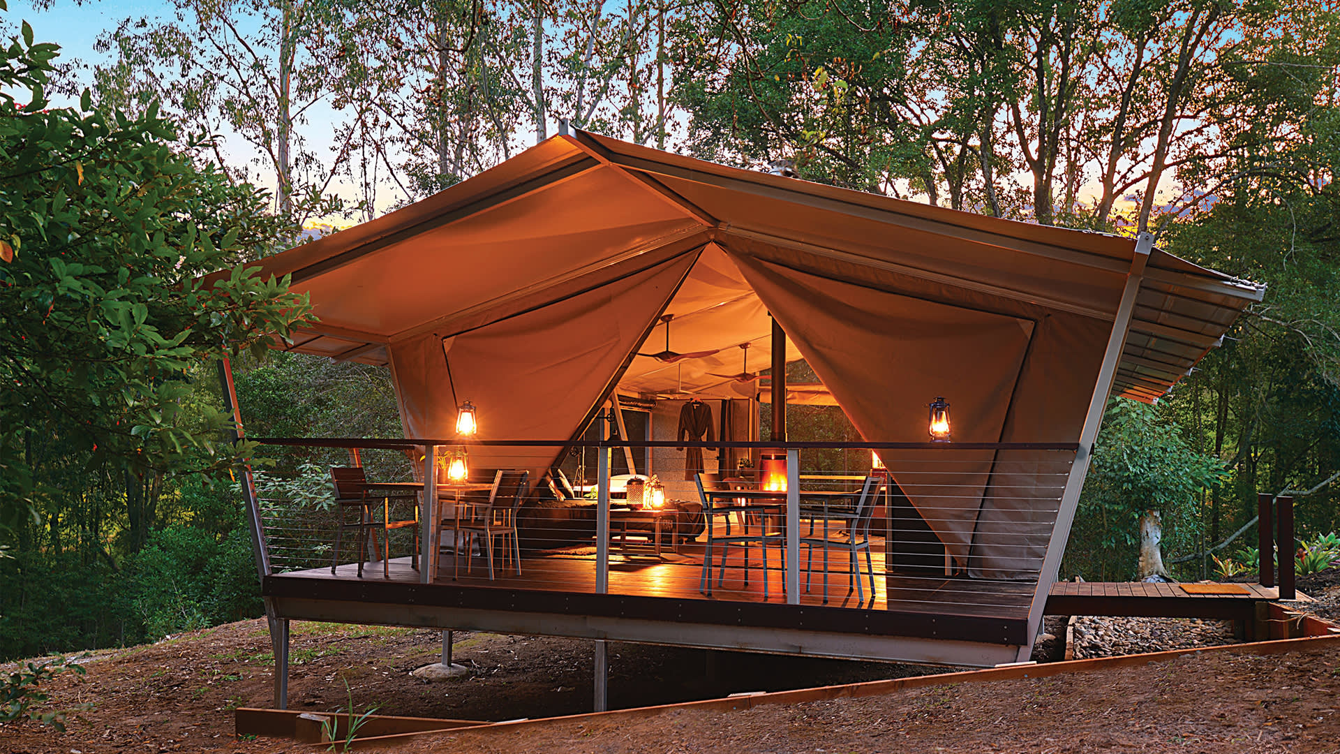 The best camping & glamping on the Sunshine Coast
