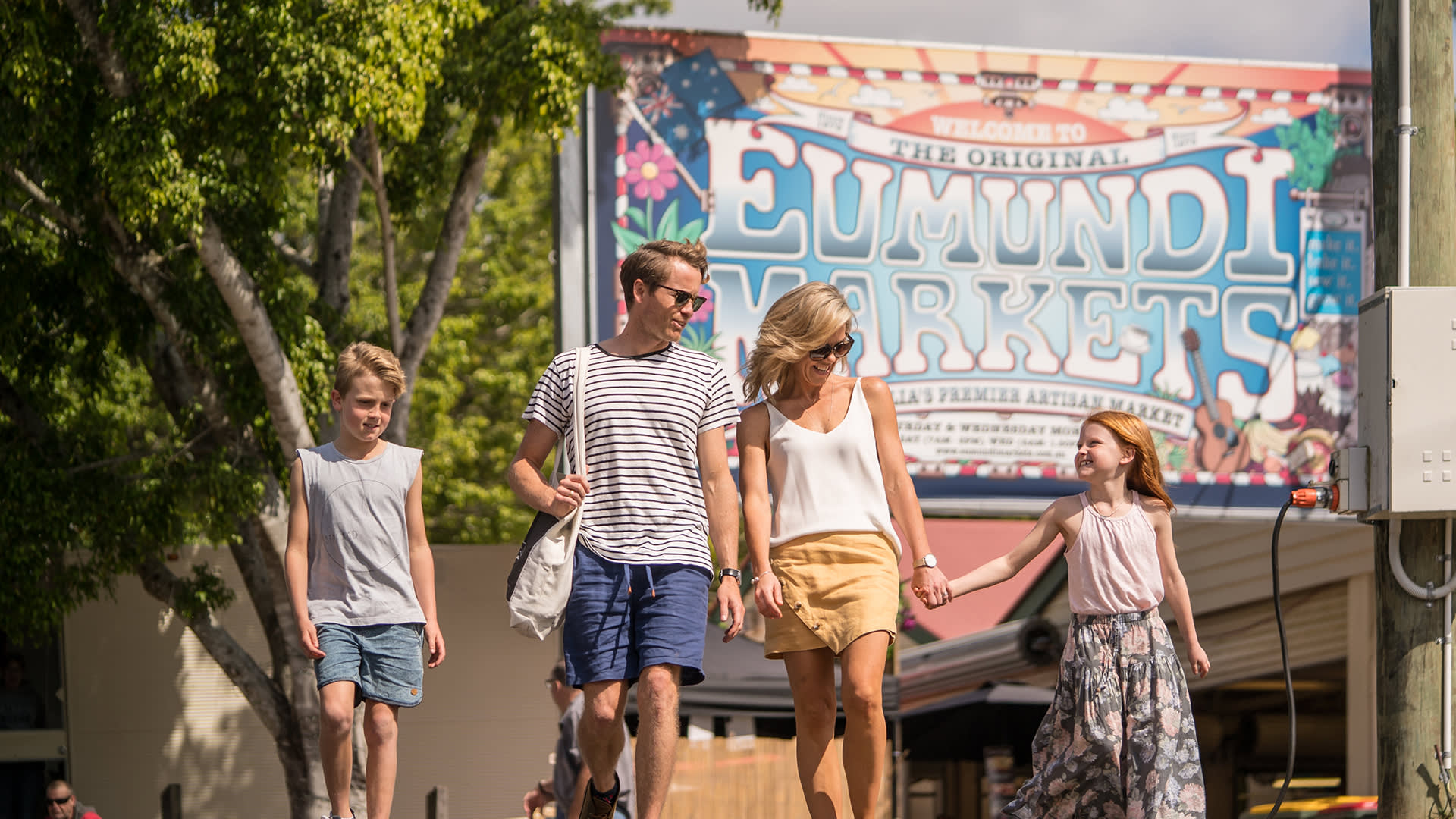 Family adventures in Eumundi