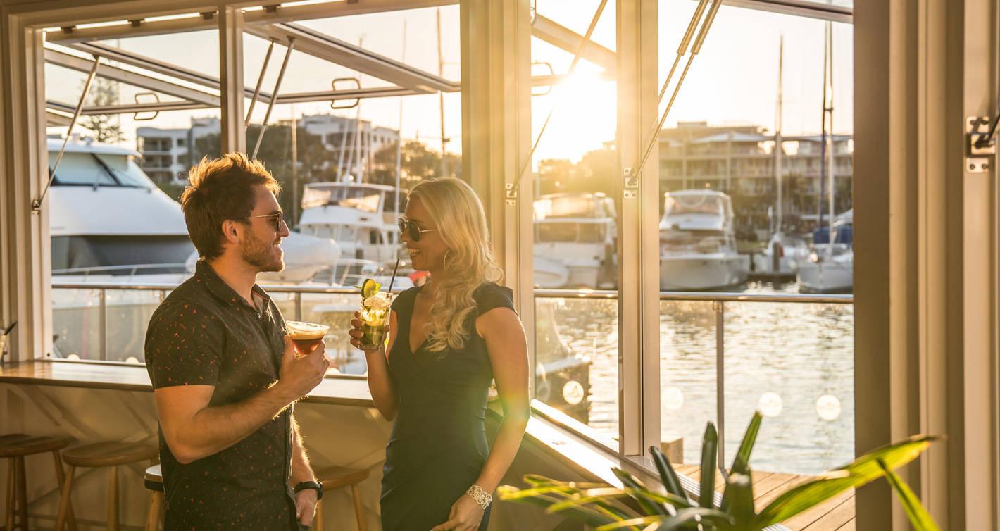 7 picks for sunset sips on the Sunshine Coast!