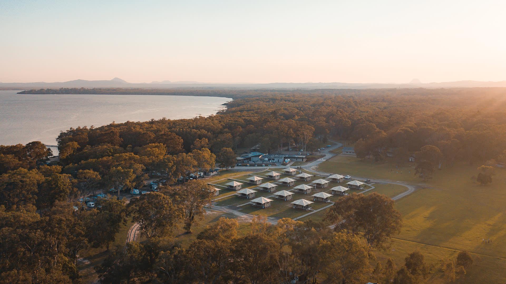 Habitat Noosa aerial