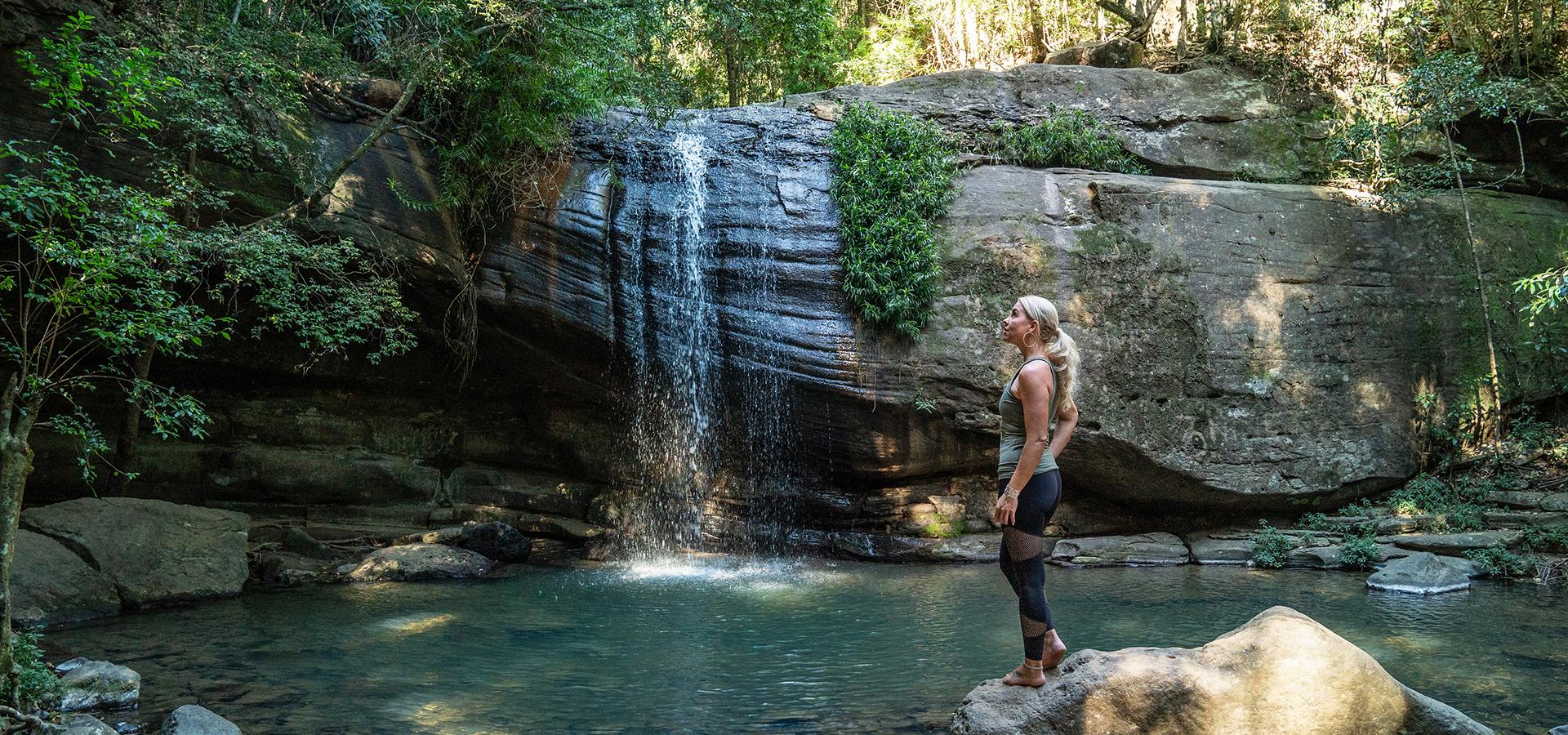 The Sunshine Coast's undiscovered waterfalls