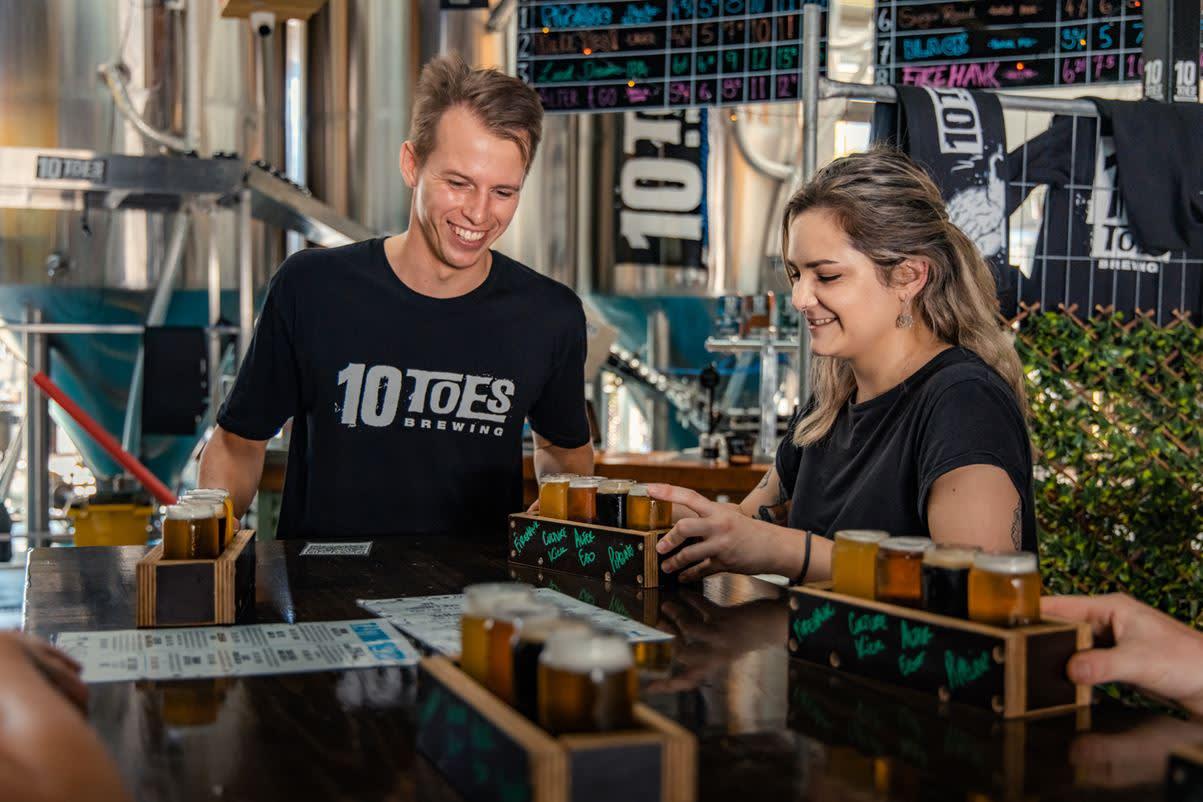 10 Toes Brewery,Alexandra Headland