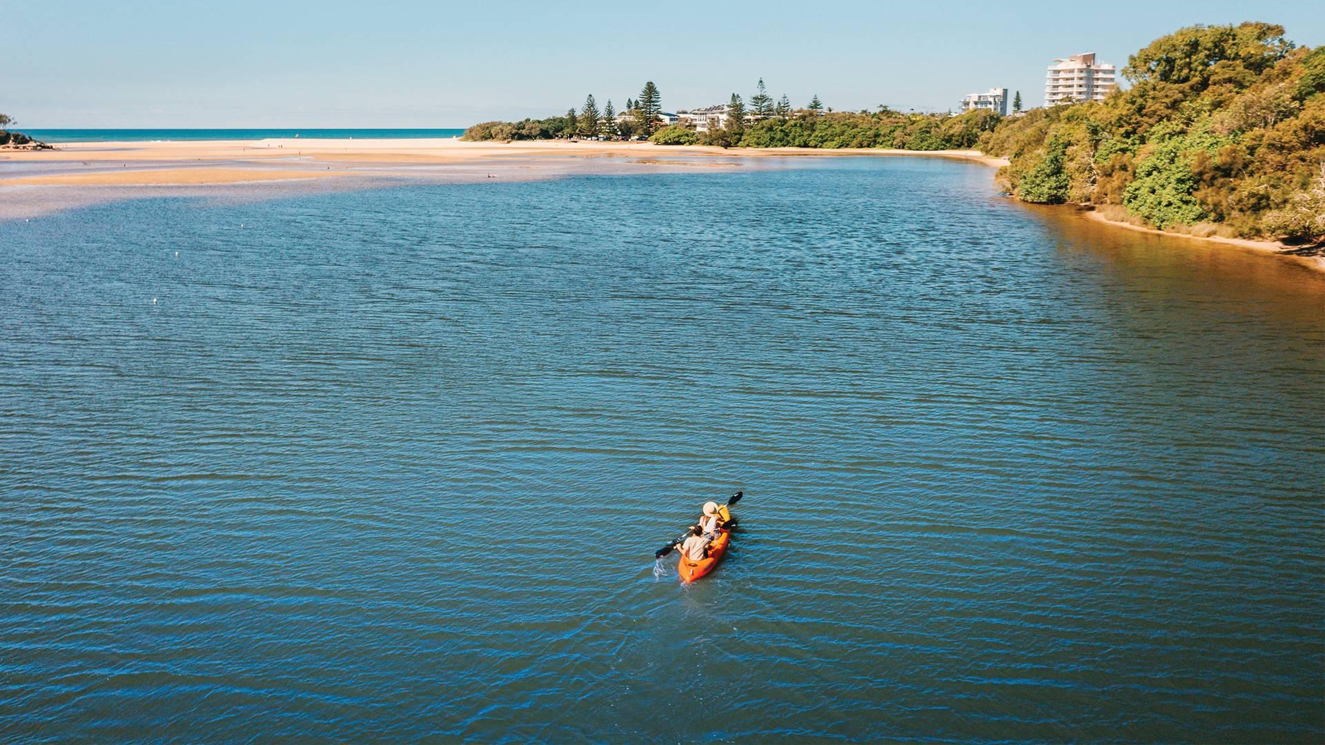 Kayak Currimundi lake